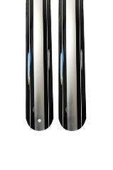 """Sárvédő plasztik 53/24"""" Eco type fekete/ezüst/fekete"""