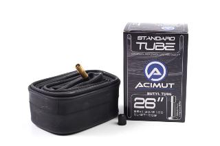 Tömlő 26x1,90/2,125 51/57-559 AV 48mm dobozos ACIMUT